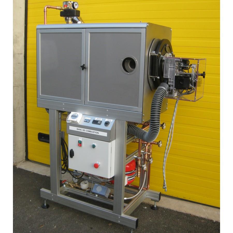 Banc de combustion brûleur fioul 18 kW