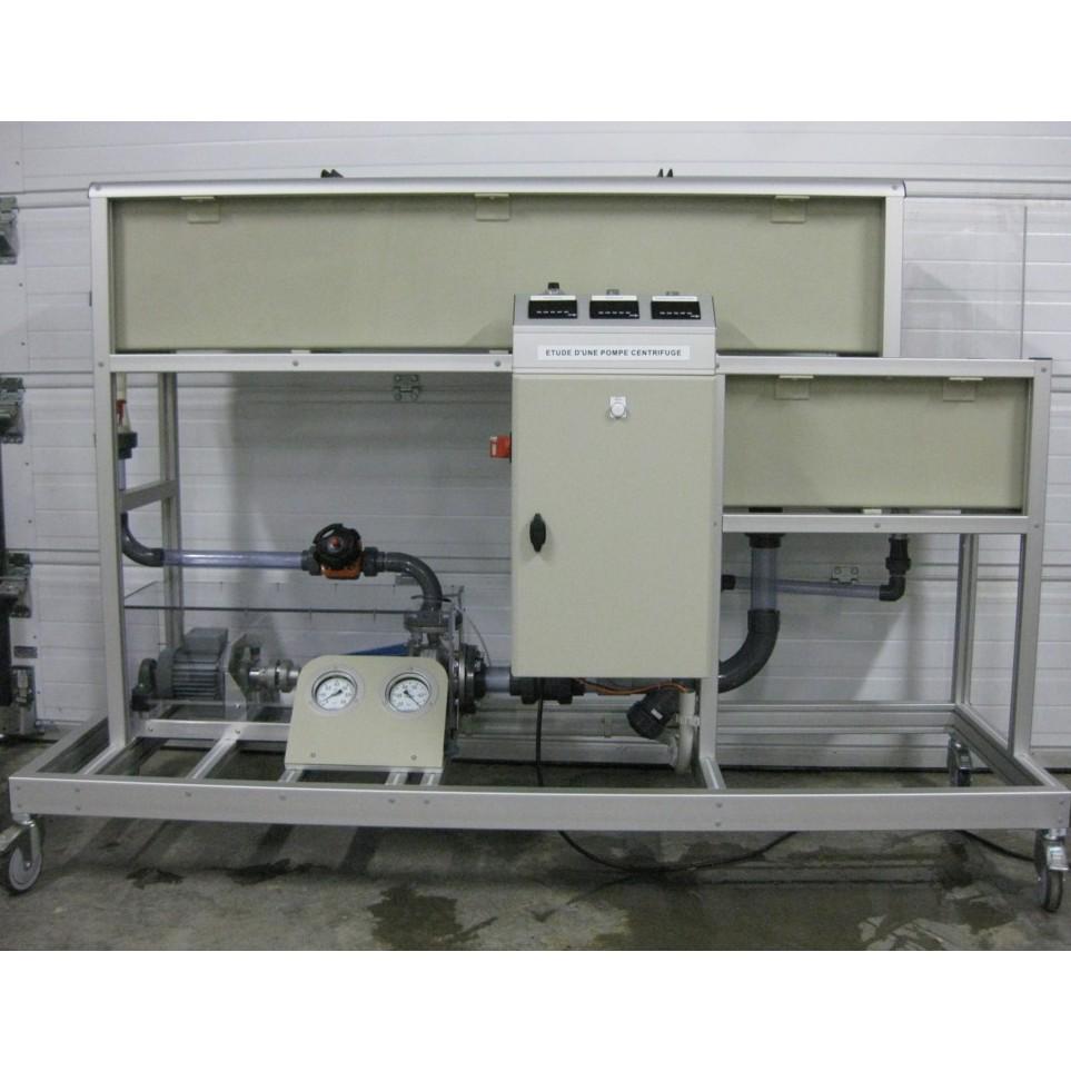Etude d'une pompe centrifuge