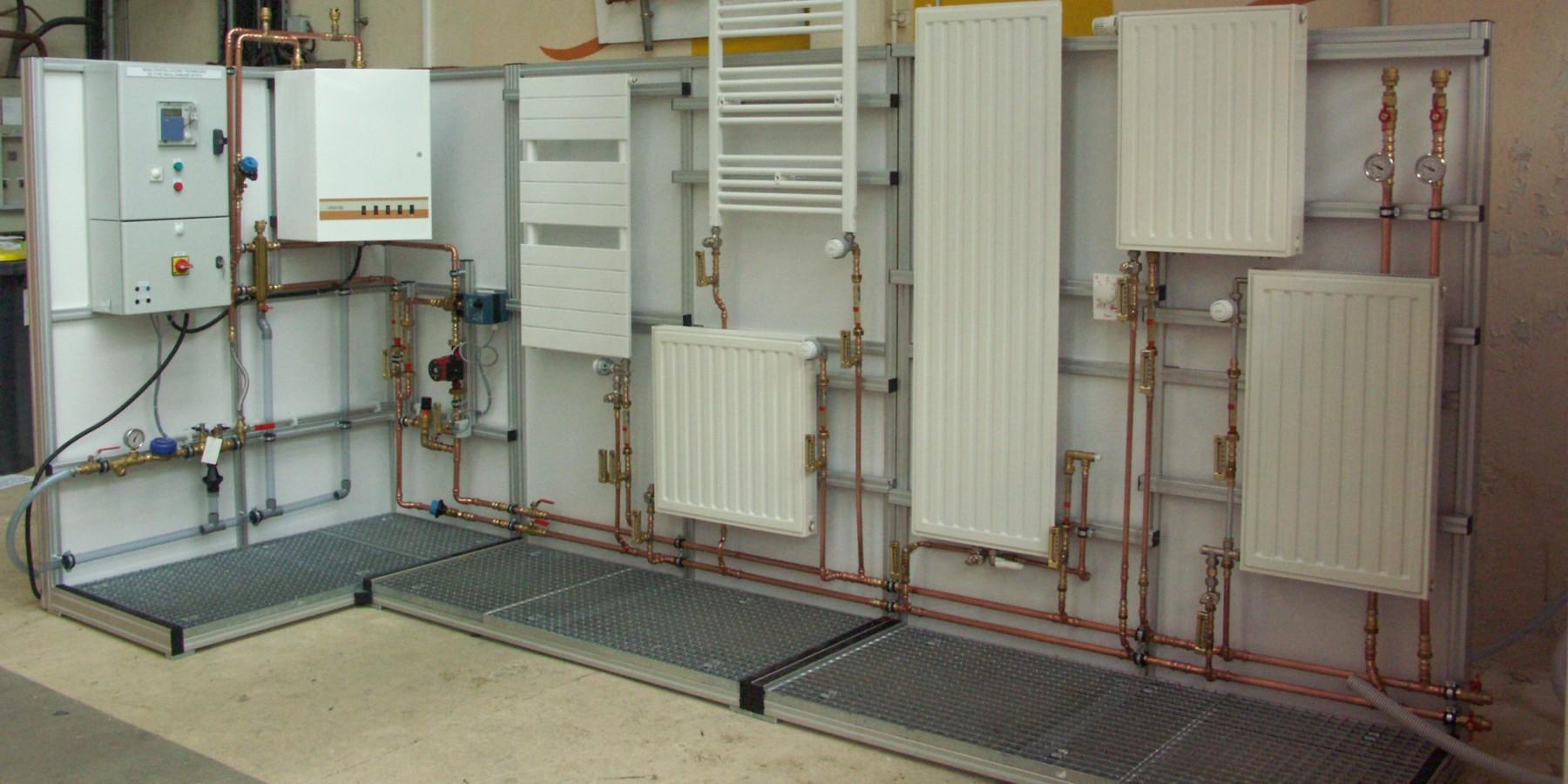 Installation thermique pavillonnaire
