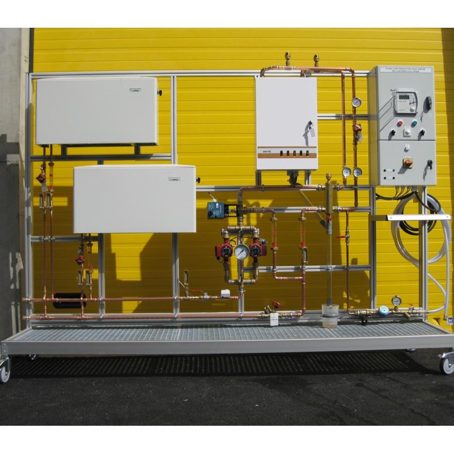 Production d'eau chaude par chaudière électrique